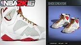 75c2aa0f32bcaf Play next  Play now. NBA 2K16 Shoe Creator Air Jordan 7 ...