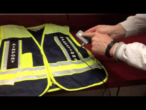 Police Led Lights >> Lighted Safety Vest - YouTube