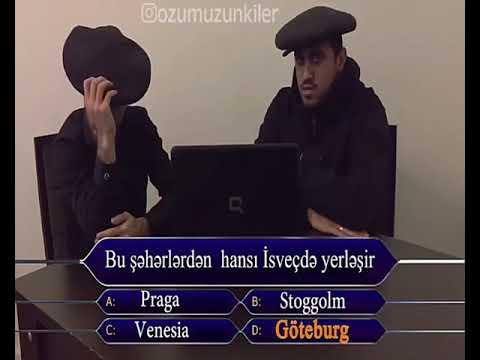Alixan Recebov Bakililar Milyonçu Şousunda