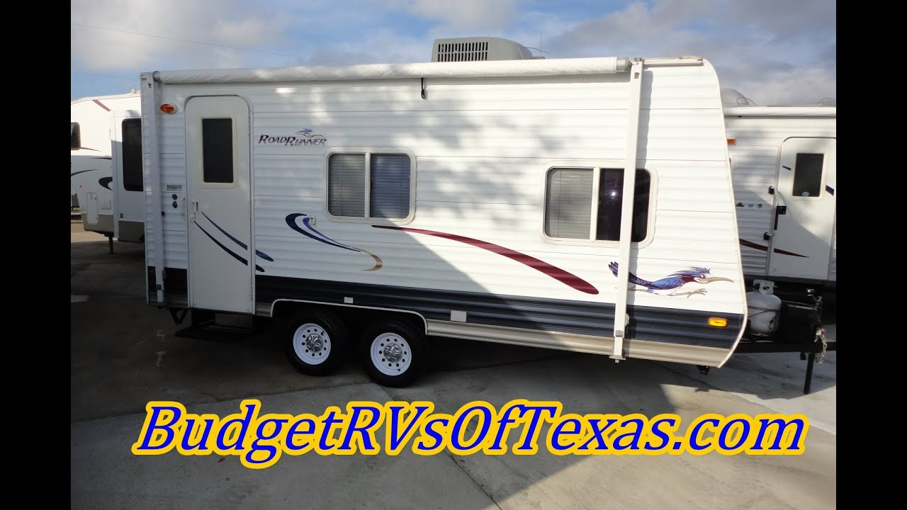 2006 Road Runner Bumper Pull Travel Trailer Light Enough To Pull With The  Family Van!