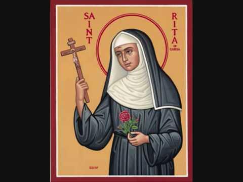 Populaire Prière à Sainte Rita de Cascia - YouTube WU66
