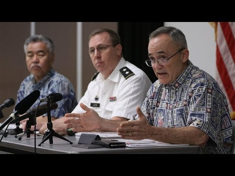 Hawaii Officials Announce False Missile Alert Investigation Results