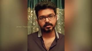 ACTOR VIJAY'S BREAKING SPEECH FOR JALLIKATTU ISSUE  |  Vijay support for jallikattu | Must Watch