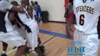2017 PG Maxwell Evans Hits Half-Court Buzzer Beater To Force OT AT GMI