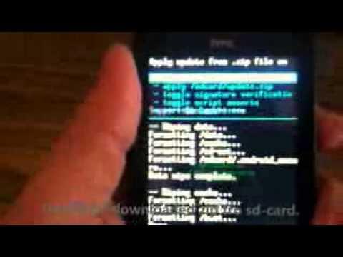how to install cyanogen mod on htc explorer