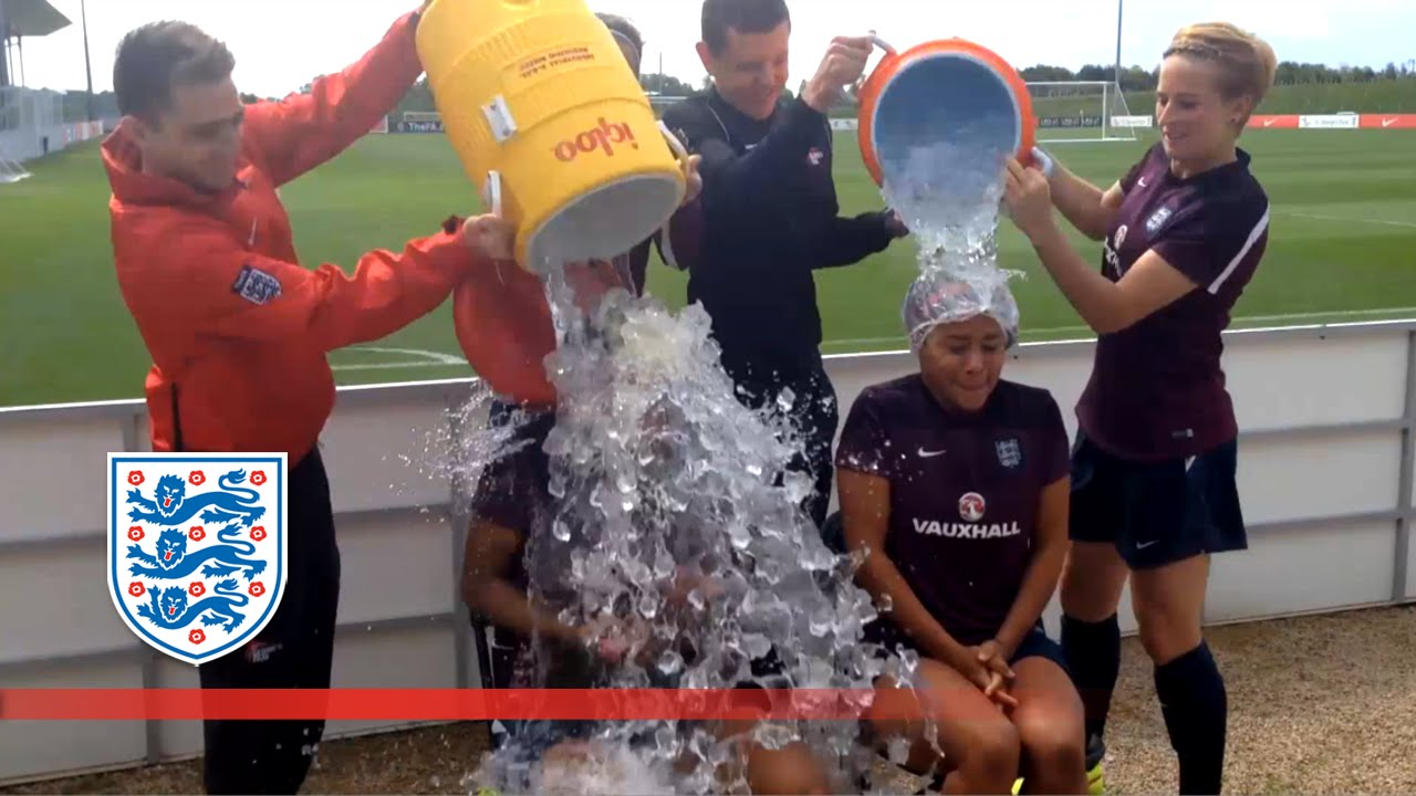 England women's ice bucket challenge | Inside Access