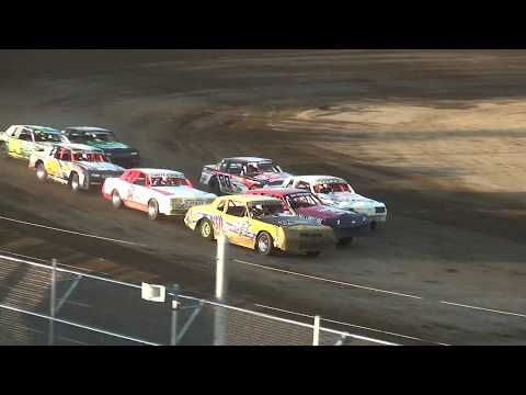 IMCA Hobby Stock Heats Independence Motor Speedway 8/12/17