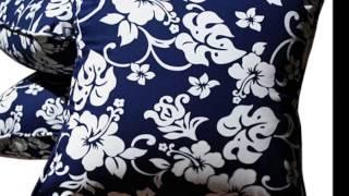 Hibiscus Bedding by Designer Dean Miller