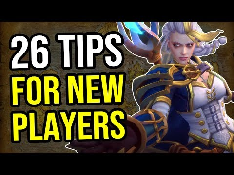 WoW Guides - 26 Tips For Total Beginners [World of Warcraft]
