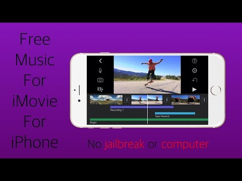 How To Get Free Music For iMovie For iPhone