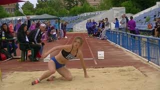 6 июня Прыжки в длину Девушки Квалификация
