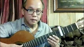 Lá Đổ Muôn Chiều (Đoàn Chuẩn - Từ Linh) - Guitar Cover