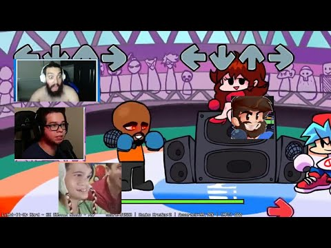 às reação dos youtubers Matt target practice | friday night funkin vs Matt mod