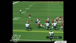 NFL GameDay 2002 PlayStation 2 Gameplay_2001_11_27_1