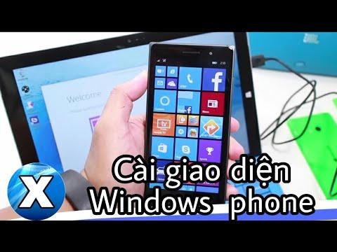 Cài giao diện Windows  Phone lên mọi máy Android.