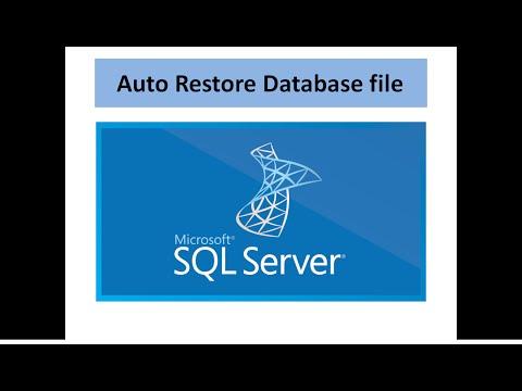 Auto  SQL Restore database daily .