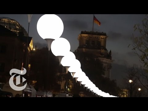Berlin's Wall of Light | The New York Times