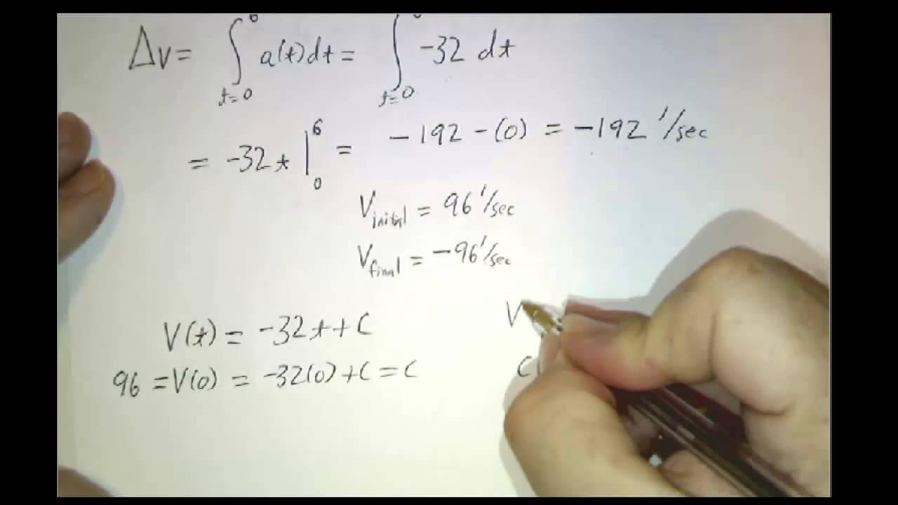 Net change theorem - YouTube