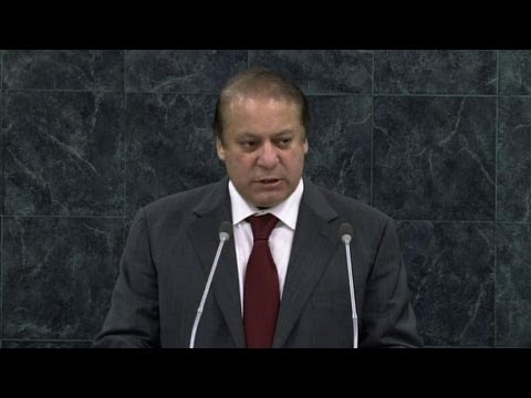 Sharif slams India, Pakistan arms race as massive waste