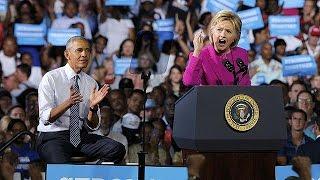 باراك أوباما يؤكد دعمه وثقته بهيلاري كلينتون لتكون رئيسة الولايات المتحدة من بعده     6-7-2016