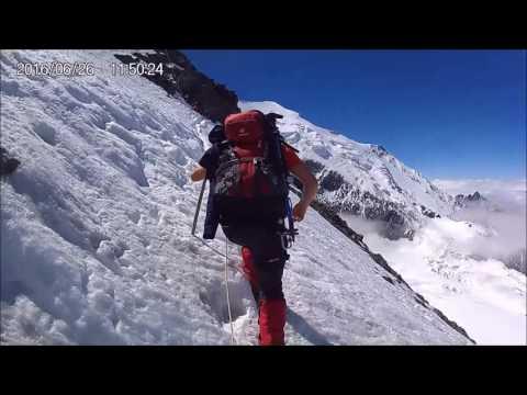 Ascension Mont blanc 2016