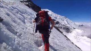 Ascension Mont blanc 2016