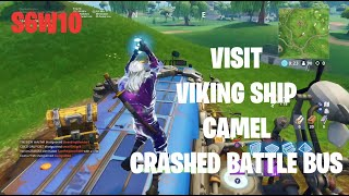 Visit A Viking Ship A Camel And A Crashed Battle Bus Clip Ready