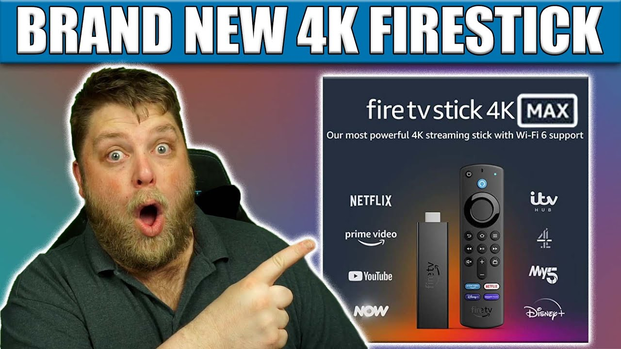 Download BRAND NEW - Firestick 4K MAX Is Here!