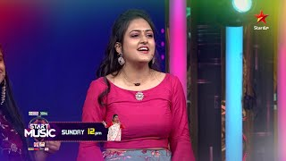 Lady singers tho #Suma jodi oka range fun!!!  #StartMusic Sunday at 12 PM on #StarMaa