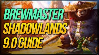 Brewmaster Shadowlands 9.0 GUIDE ★ Covenant, Legendaries & MORE!