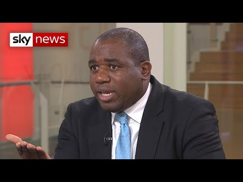 Labour MP David Lammy lays out case for second referendum