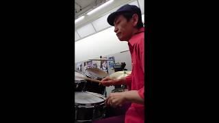 #山部三喜男 Mikio Plays Groovy Drums Pattern ① thumbnail