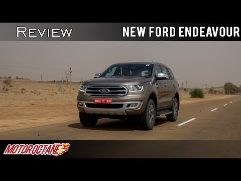 Ford Endeavor 2019 Review in Hindi | Price | MotorOctane
