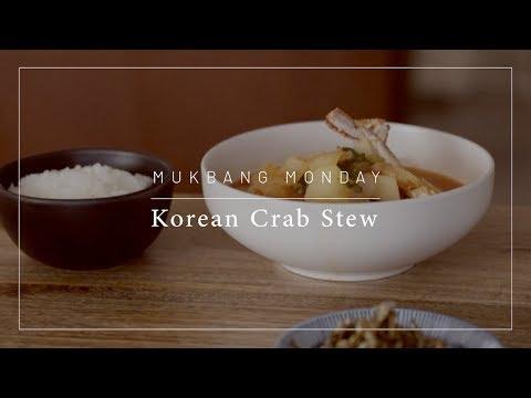 Mukbang Monday   Korean Crab Stew ft. Silas