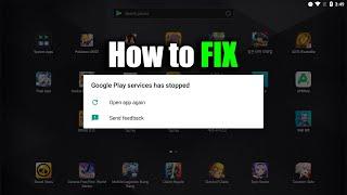 How to Fix LDplayer Google Player Service Stop screenshot 3