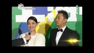 第20届上海电视节白玉兰奖红毯 郭涛梅婷携《父母爱情》剧组亮相
