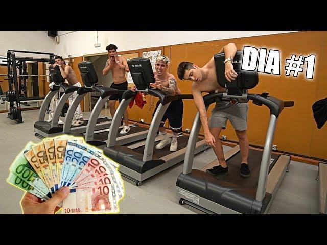 EL ÚLTIMO EN PARAR DE CORRER GANA 1000 EUROS!! **MUY MALA IDEA!!**