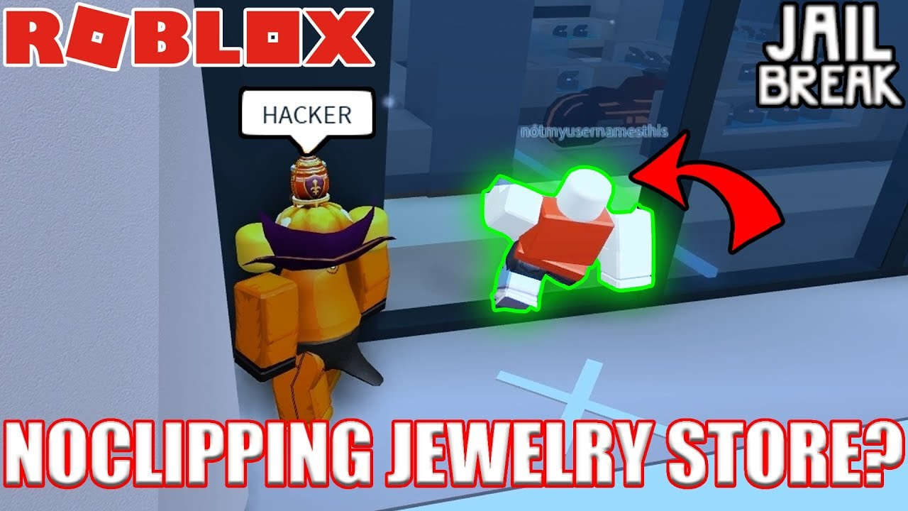 Insane Jewelry Store Noclip Glitch No Hacks Roblox Jailbreak Myth Busting - hacks for roblox jailbreak pc