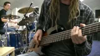 Double Stop Slap Bass & Drum Jam