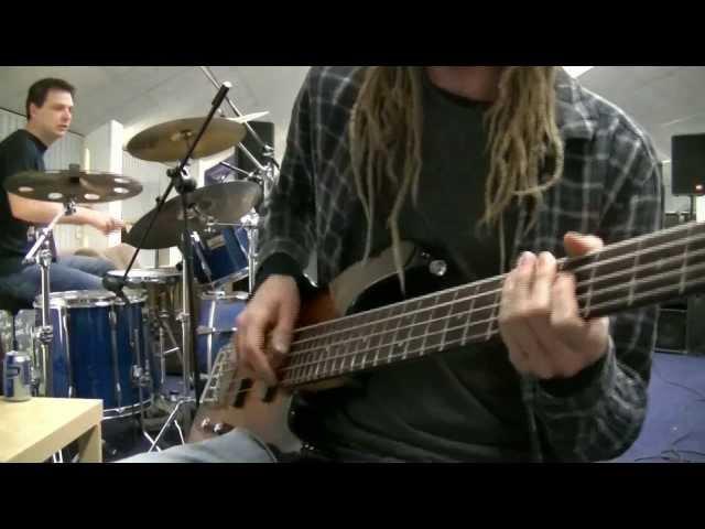 Double Stop Slap Bass & Drum Jam