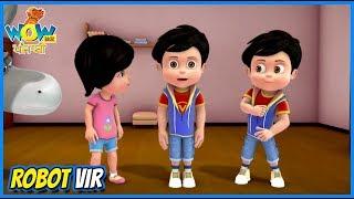 Vir: The Robot Boy Cartoon In Punjabi | Robot Vir | Punjabi Story | WowKidz Punjabi