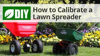 How to Use a Spreader - Correct Lawn Spreader Settings