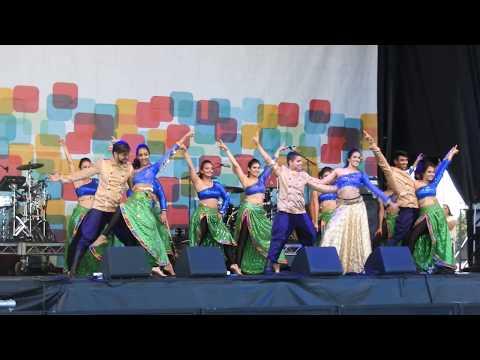 Bollywood dance - SHIAMAK Dance Team (Vancouver) @ 2017 Richmond World Festival