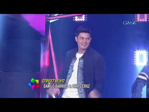90's Dance Hits - Dingdong Dantes feat. Streetboys, Manoeuvres, Abztract & UMD   StarStruck