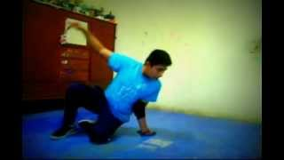Bboy tutorial/ how to Airchair : como hacer airchair