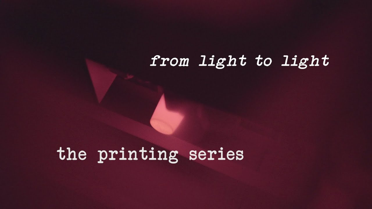 The Printing Series - Pilot - From light to light - Digingranditore