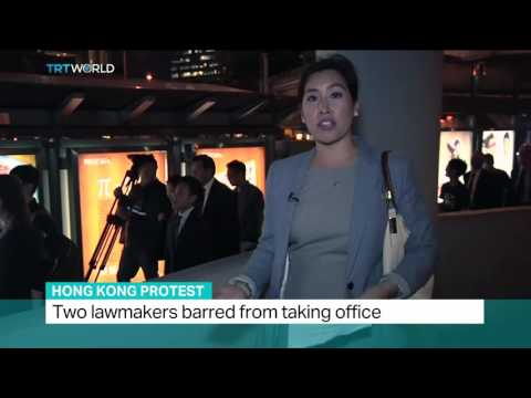 Hong Kong Protests: Lawyers' silent protest supporting lawmakers