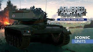 Armored Brigade France & Belgium DLC Review Part 1: New OOBs, Map, Improvements
