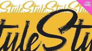 Vector Brush Stroke Typography In Illustrator - Illustrator Typography Tutorial