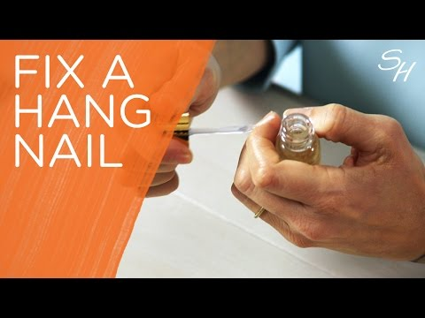Ask Sally: How to fix a hang nail